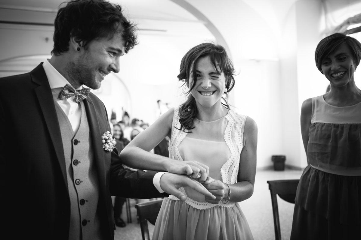 fotografo di matrimoni a padova, durante la cerimonia